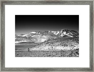 Nevado Ojos Del Salado Framed Print