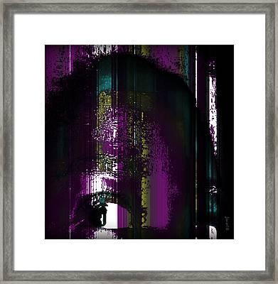 Never Again Framed Print by Fania Simon