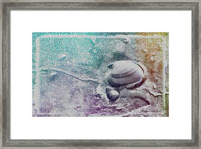 Never Clam Up Framed Print