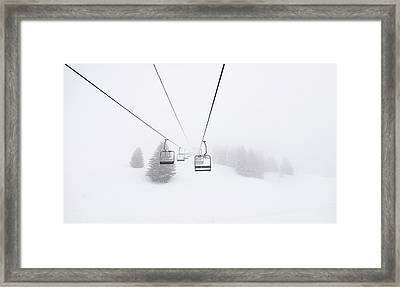 Never End Framed Print by Happy Home Artistry