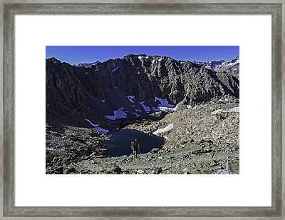Never Ending Views Framed Print