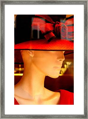 Never Ever Think Of Who I May Be Framed Print by Jez C Self