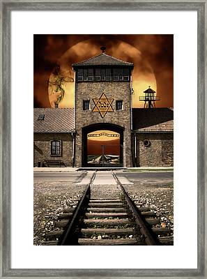 Never Forget ............. In Remembrance. Framed Print by Daniel Hagerman