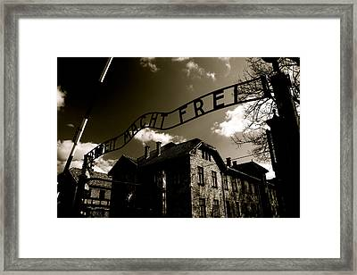 Never Forget 25 Framed Print