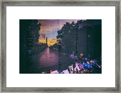 Framed Print featuring the photograph Never Forget by Edward Kreis