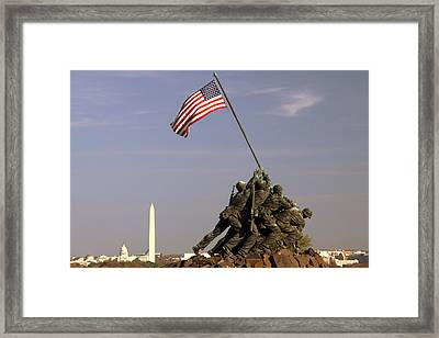 Never Forget Framed Print by Mitch Cat