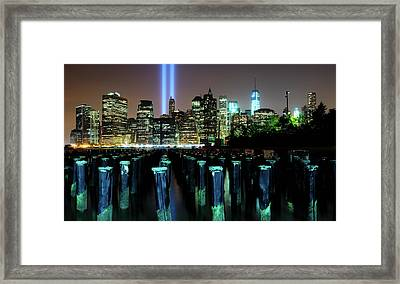 Never Forget Framed Print by Soon Ming Tsang