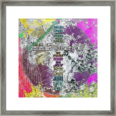 Never Forget, The Road Next Framed Print