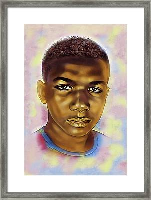 Never Forget Trayvon Framed Print