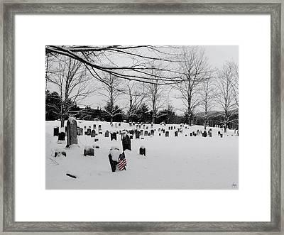 Never Forget Framed Print