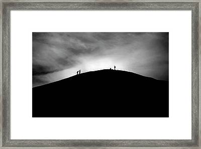 Framed Print featuring the photograph Never Give Up by Pradeep Raja Prints