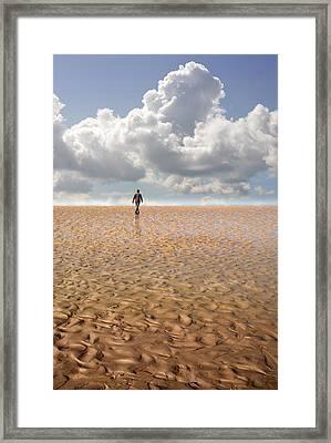 Never Go Back Framed Print by Mal Bray