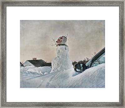 Never Gonna Leave You Framed Print by Susan Capuano