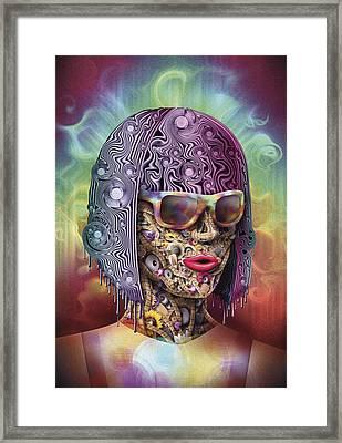 Never Hide Framed Print by Robert Palmer