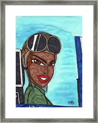 Never Leave Your Wingwoman Framed Print