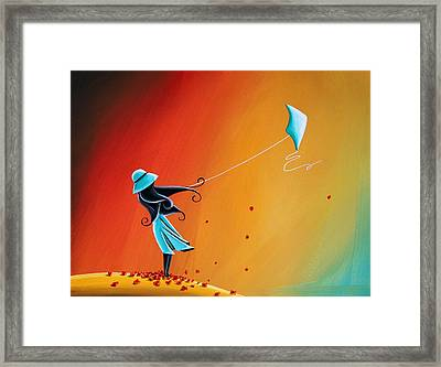 Never Let Go Framed Print by Cindy Thornton