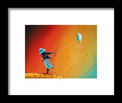 Kite Framed Prints