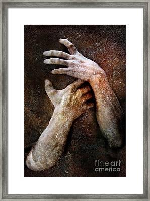 Never Let Go Framed Print by Jacky Gerritsen