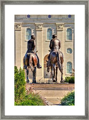 Never Separated Framed Print by David Simpson