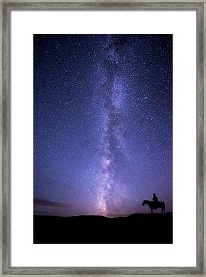 Never Stop Looking Up Framed Print