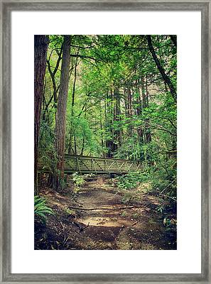 Never To Part Framed Print by Laurie Search
