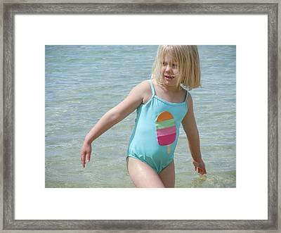 Framed Print featuring the photograph Never Too Cold by Dan Whittemore