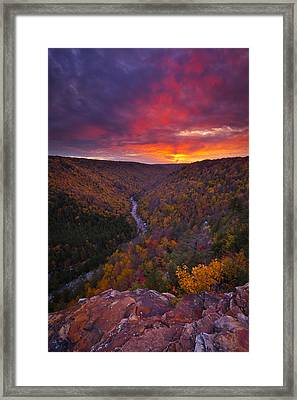 Neverending Autumn Framed Print