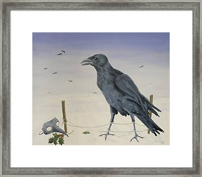 Nevermore Framed Print by Magdolna Ban