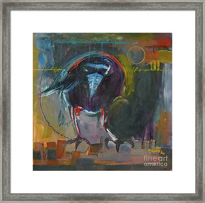 Nevermore Framed Print by Ron Stephens