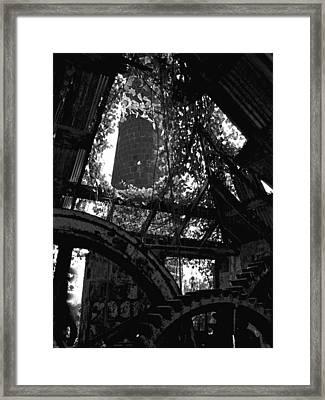 Nevis I Framed Print by Louise Fahy