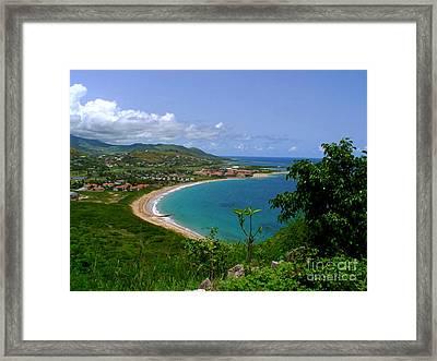 Nevis IIi Framed Print by Louise Fahy