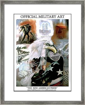 New American Pride Framed Print