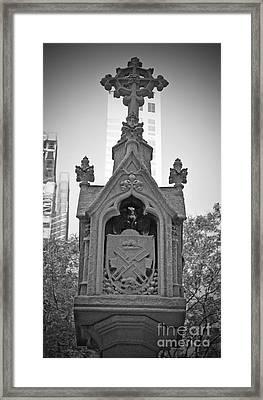 New Amsterdam Cross Framed Print