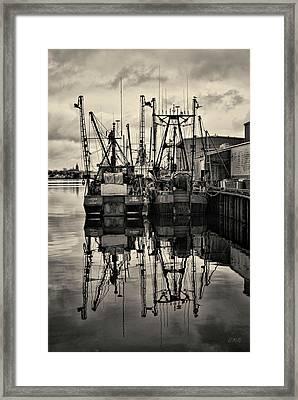 New Bedford Waterfront No. 1 Framed Print by David Gordon