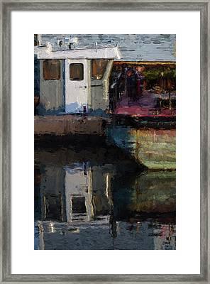 New Bedford Waterfront  Xxiv Framed Print