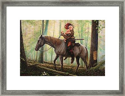 New Beginnings Framed Print by Dan Nance