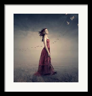 Wandering Framed Prints