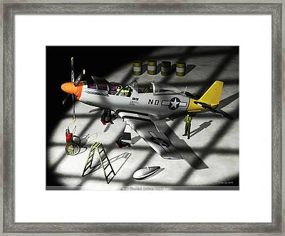New Bird Arrives Framed Print by Jim Coe