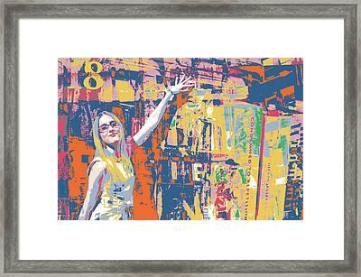 New Blonde Framed Print by Shay Culligan