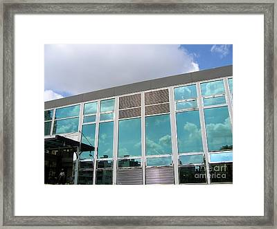 New Company Building Framed Print