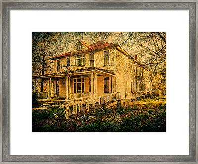 New Dannemora Hotel Framed Print by Phillip Burrow