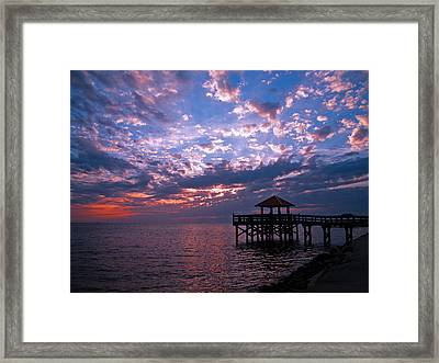 New Day Dawning Framed Print