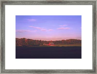 Framed Print featuring the photograph New Day Dawning by Diane Merkle
