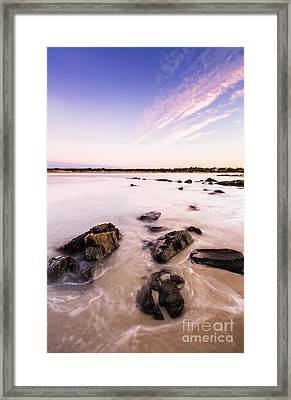 New Day In Coles Bay Framed Print