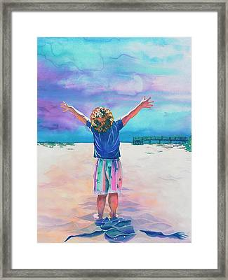 New Day Framed Print by Maureen Dean