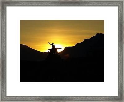 New Day Framed Print by Randall Slinkard