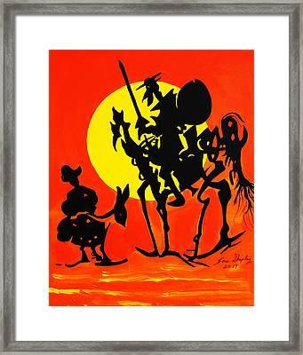New Don Quixote Framed Print