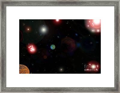 New Earth Framed Print