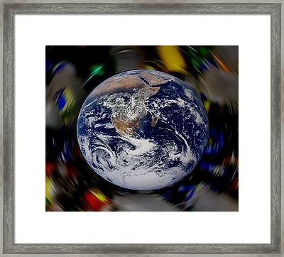 New Earth Framed Print