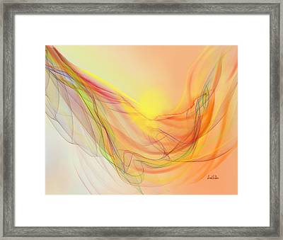 New Earth With Harmonious Layers Framed Print